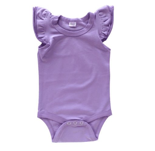Blankish - Everyone will fall in love with this super-soft, super-cute, and (really) super-affordable Basic Fluttersuit. Made with our signature stretch cotton blend and designed for maximum comfort, it really is the perfect garment for your little one to wear. They have 3 fluttery ruffles on each shoulder, too! All our Basics are blank, so that you can print your own designs or leave them as they are to really show off your handmade outfits. Designed with love by us in Australia.
