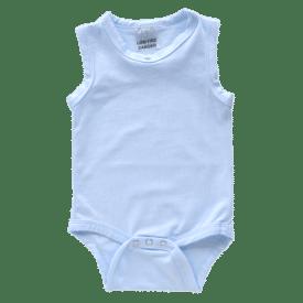 Baby Blue Sleeveless Bodysuit1