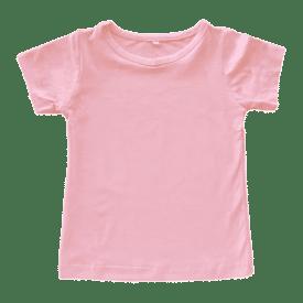 Peachy Pink Basic Tee
