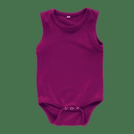 Berry Sleeveless Bodysuit