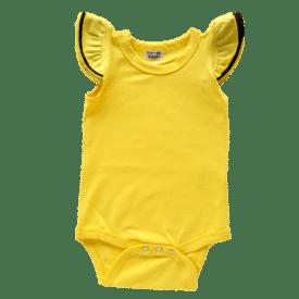 Black & Gold Basic Sleeveless Fluttersuit / Onesie