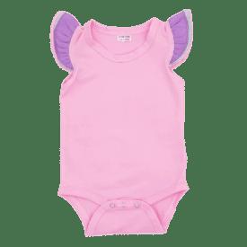 Bubblegum Pink Truflutter Sleeveless Fluttersuit
