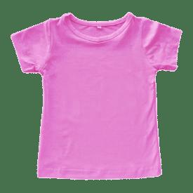Bubblegum Pink basic tee