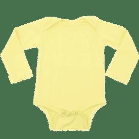 Butter Long Sleeve Envelope Bodysuit