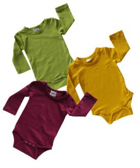 Long Sleeve Basic Bodysuits