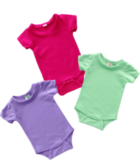 Short Sleeve Basic Bodysuits