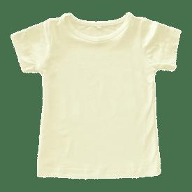 Cream Basic Tshirt