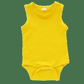 Dark Yellow Sleeveless Bodysuit