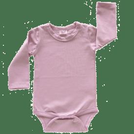 Dusty Pink Long Sleeve Bodysuit