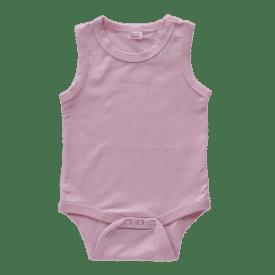 Dusty Pink Sleeveless Bodysuit