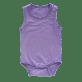 Lavender Sleeveless Bodysuit