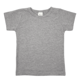 Light Frosted Grey Basic Tee1