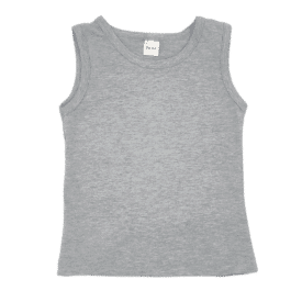 Light Frosted Grey Tank Tee