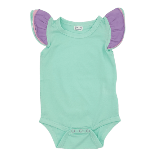 Mint Truflutter Sleeveless Fluttersuit