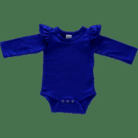 Royal Blue Longsleeve Fluttersuit / Onesie