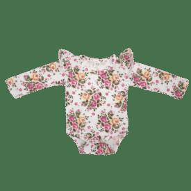 Vintage Blossom Long Sleeve fluttersuit