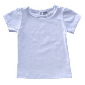 White-basic-tee