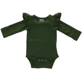 army-green-Long Sleeve fluttesuit