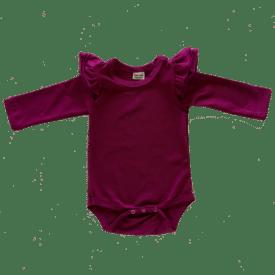 Berry Longsleeve Fluttersuit / Onesie