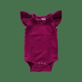 Berry Basic Sleeveless Fluttersuit / Onesie