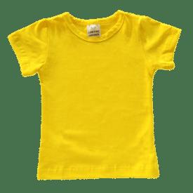 Bright Yellow Basic Tee