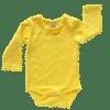 Bright Yellow Long Sleeve Basic Bodysuit / Onesie