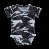 Camo Short Sleeve Basic Bodysuit
