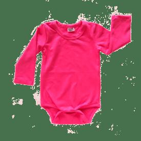 dark pink long sleeve bodysuit