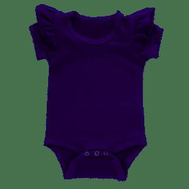 Dark Pruple Short Sleeve Fluttersuit