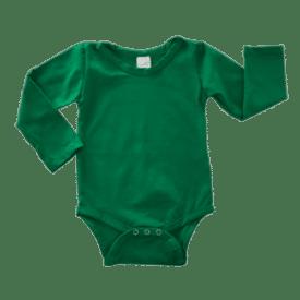 emeerald green long sleeve bodysuit