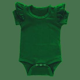 Emerald Green short sleeve fluttersuit