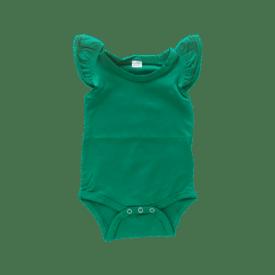 Emerald Green Basic Sleeveless Fluttersuit / Onesie