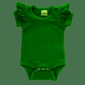 Forest Green Short Sleeve Fluttersuit