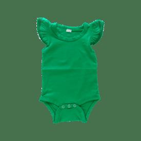 Forest Green Basic Sleeveless Fluttersuit / Onesie