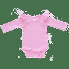 Bubblegum Pink Long sleeve Fluttersuit