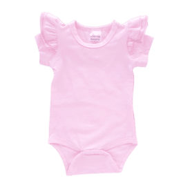 Icy Pink Short Sleeve Fluttersuit1