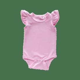 Icy Pink Basic Sleeveless Fluttersuit / Onesie