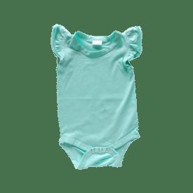 Mint Basic Sleeveless Fluttersuit / Onesie