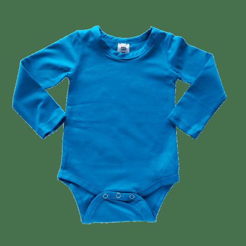 Ocean Long Sleeve Basic Bodysuit / Onesie