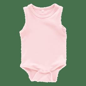 Pale Pink Sleeveless Bodysuit