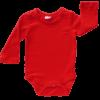 Red long sleeve bodysuit