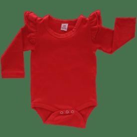 Red Longsleeve Fluttersuit / Onesie