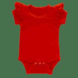 Red Short Sleeve Fluttersuit1