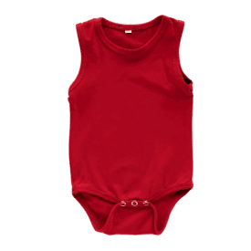 red-sleeveless-onesie-bodysuit
