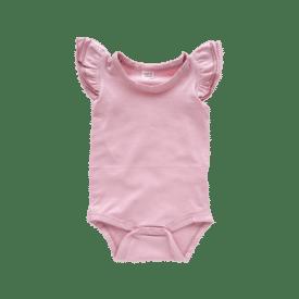 Dusty Pink Basic Sleeveless Fluttersuit / Onesie