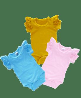 Short Sleeve Fluttersuits