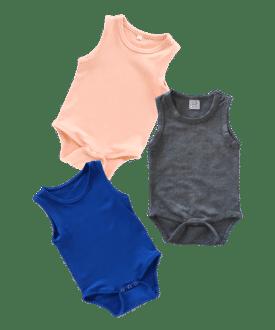 Sleeveless Basic Bodysuits