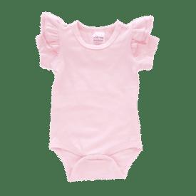 Thistle Pink Short Sleeve Fluttersuit