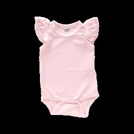 Thistle Pink Basiic Sleeveless Fluttersuit / Onesie