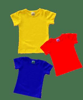 Short Sleeve Basic Tops